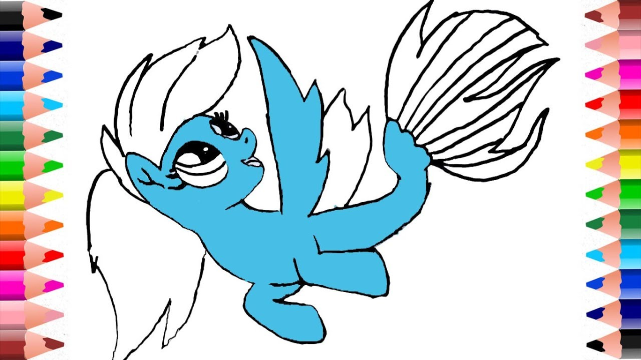 how to draw rainbow dash my pony coloring pages