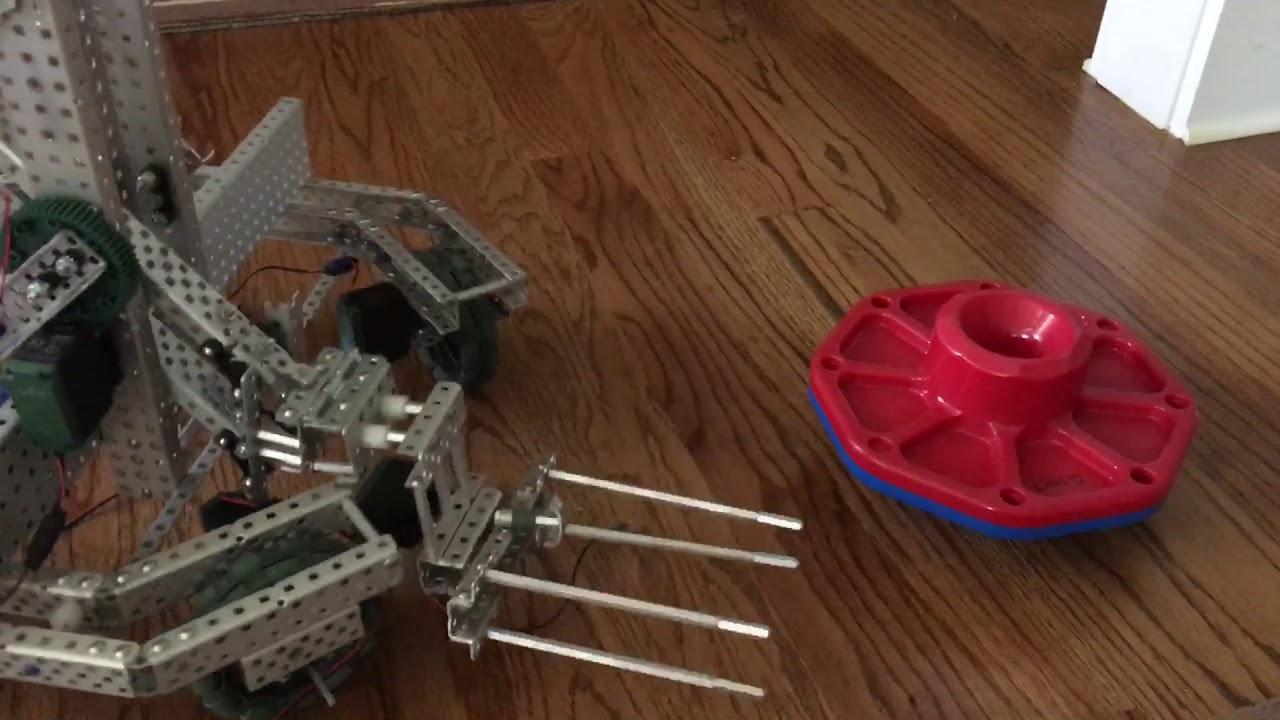 Vex Robotics Turning Point Dr4b X Drive And Cap Flipper