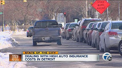Dealing with high auto insurance costs in Detroit