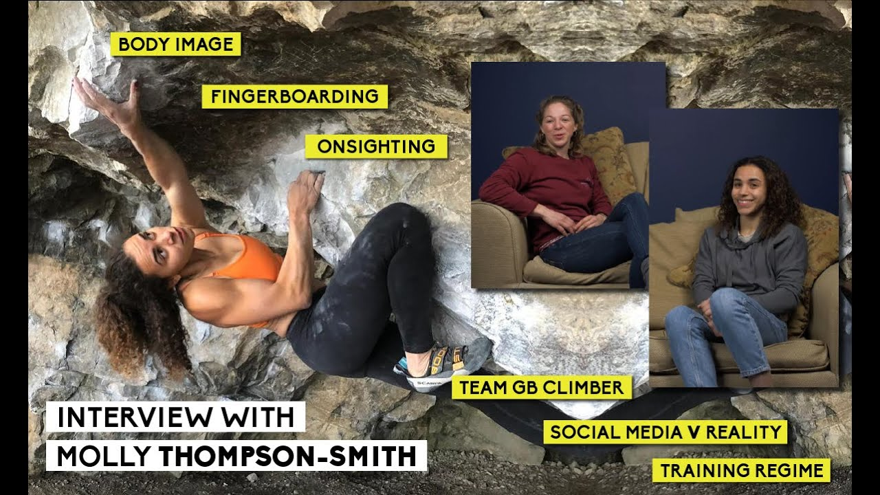 When Maddy met Molly | Interview with Molly Thompson-Smith | Team GB Climber
