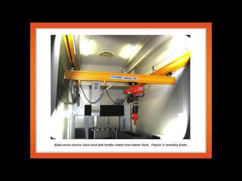 Elephant Lifting Products - chain hoists, lever hoists, electric chain hoists, beam clamps, trolleys