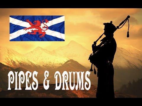 Highland Troop ~ Gordon Highlanders ~ Pipes & Drums