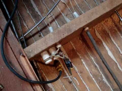 How Much To Remove Knob And Tube Wiring: knob and tube (out with the old ..in with the new ) - YouTuberh:youtube.com,Design