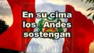 Himno Nacional del Perú - Sexta estrofa - OFICIAL thumbnail