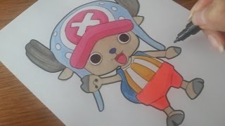 How to draw : Chopper from One Piece ( チョッパー )