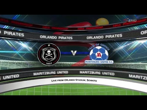 Absa Premiership 2017/2018 - Orlando Pirates vs Maritzburg United