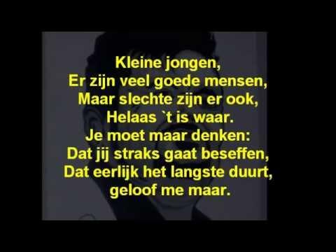 André  Hazes - Kleine Jongen + Lyrics/Songtext