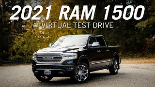 2021 Ram 1500 Limited Walkaround and Virtual Test Drive
