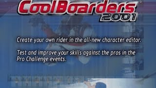 Cool Boarders 2001 PS1 Demo Playthrough