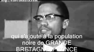 MALCOLM X-EXPULSION from ( de) PARIS-FRANCE 1965