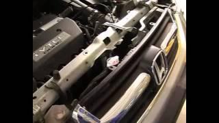 Замена охлаждающей жидкости при помощи установки КС-121
