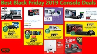 Best Black Friday 2019 Console Deals - Xbox One, Nintendo Switch, Playstation 4 & More!