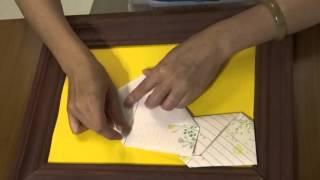 1 信封信紙摺法