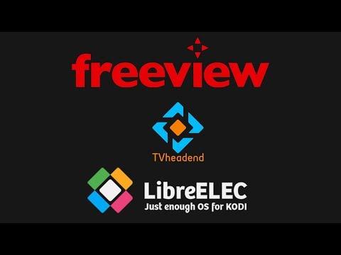 Freeview Australia IPTV LibreELEC TvHeadend PVR Setup Guide