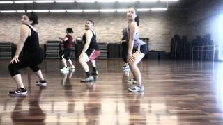 "Zumba Routine ""Hit the Floor"" by Pitbull and Twista choreo by Russell"