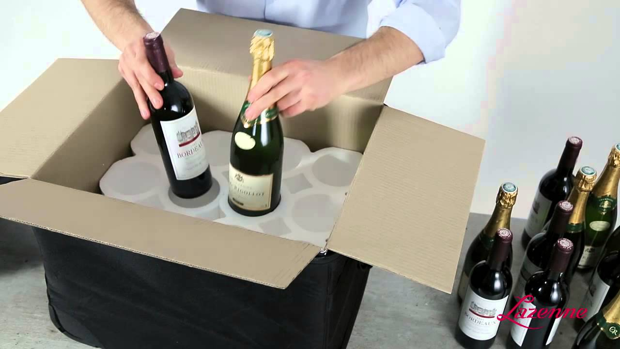 The Wine Check Rolling Wine Luggage For 12 Bottles Youtube