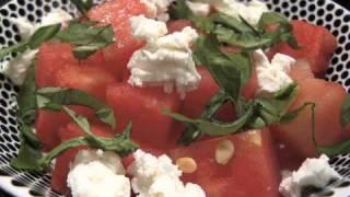 Goat Cheese & Watermelon Salad