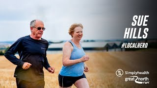 Sue Hills   #LocalHero   Simplyhealth Great North Run 2018   Great Run TV