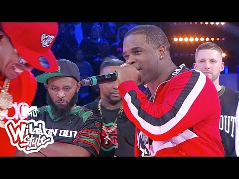 D-Wayne Chavez - A$AP Ferg goes off on Nick Cannon on Wild n out!