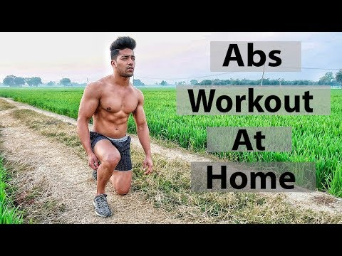 Beginners Abs Workout At Home (No Gym)