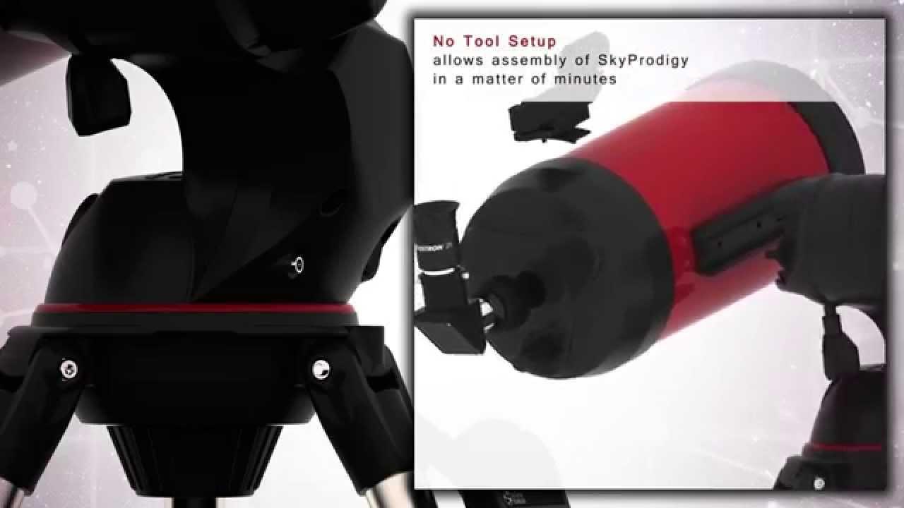 Celestron skyprodigy telescope tour youtube