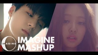 Gambar cover NCT DREAM X BLACKPINK X HRVY  - Don't Need Your Love/Don't Know What To Do MASHUP [BY IMAGINECLIPSE]