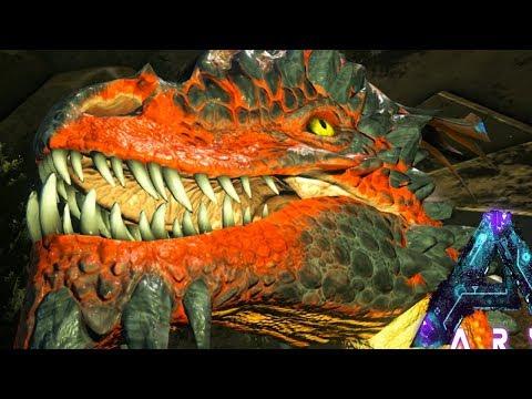 ROCK DRAKE HUNTING! WORST BIO-LUMINESCENT AREA FAILS EVER! (8) - Ark Aberration Gameplay