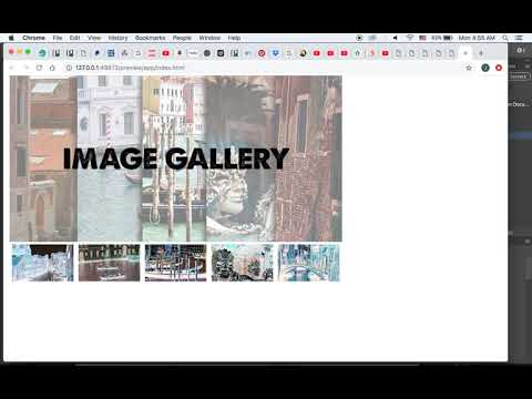 How To Build A Simple Image Gallery In Dreamweaver CC