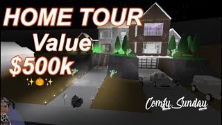 Roblox Bloxburg| Fall House Tour ♡ $500,000 Value Home