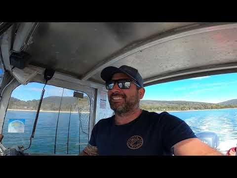 Scallop Diving And Flathead Fishing Off The Coast Of Tasmania!