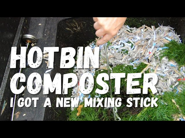 An update on the hotbin composter mixing tool
