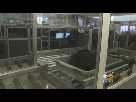LAX Debuts New Automated Screening Designed To Cut Wait Times