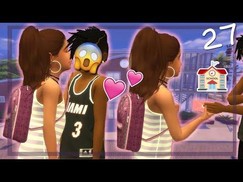 SCHOOL CRUSH?! ���� | RUNAWAY TEEN PREGNANCY CHALLENGE | The Sims 4 | Ep.27