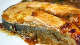 Tavë peshku (kapama) me sallmon