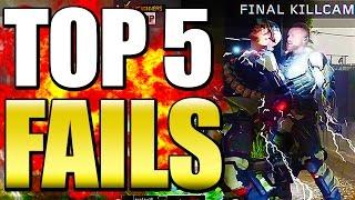 Black Ops 3 - Top 5 FAILS w/ Guest Host JAHOVA - BO3 Community Top Five #5