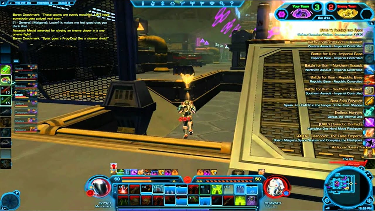 SWTOR PVP( BEST BUILD For PVP) - YouTube