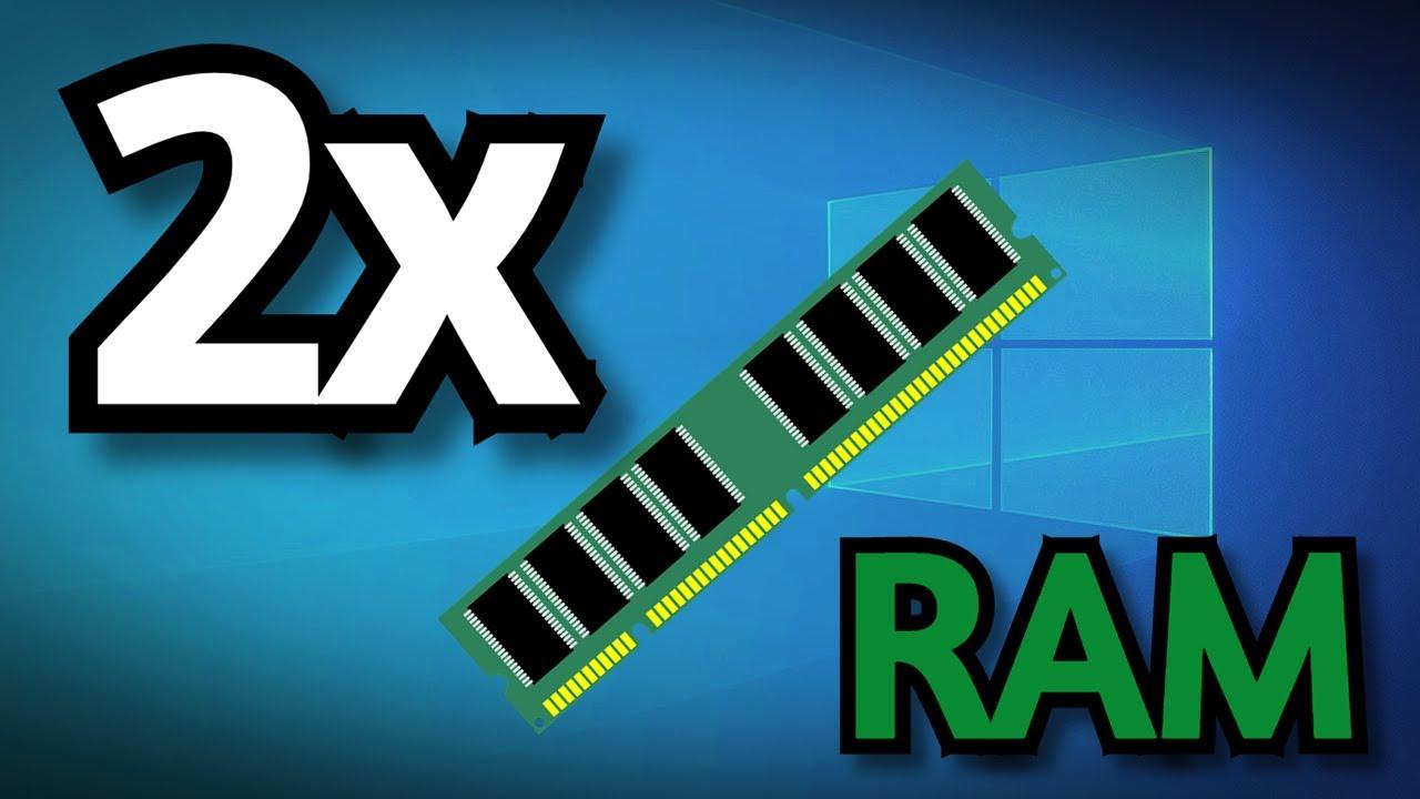 Download Augmenter la mémoire virtuelle / RAM de votre PC