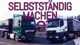 Mit eigenem LKW selbstständig machen?? | Helmut Baldus GmbH