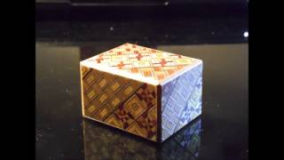 2 Sun 7 Step Japanese Puzzle Box In Stopmotion | Thestopmotioners