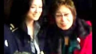 20100124朝青龍と国生さゆり・・祝賀会.