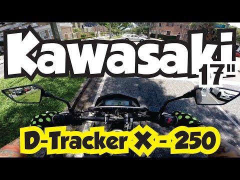 Canal do Coruja - Kawasaki D-Tracker X - 250cc BEM legal!! Motovlog Comic