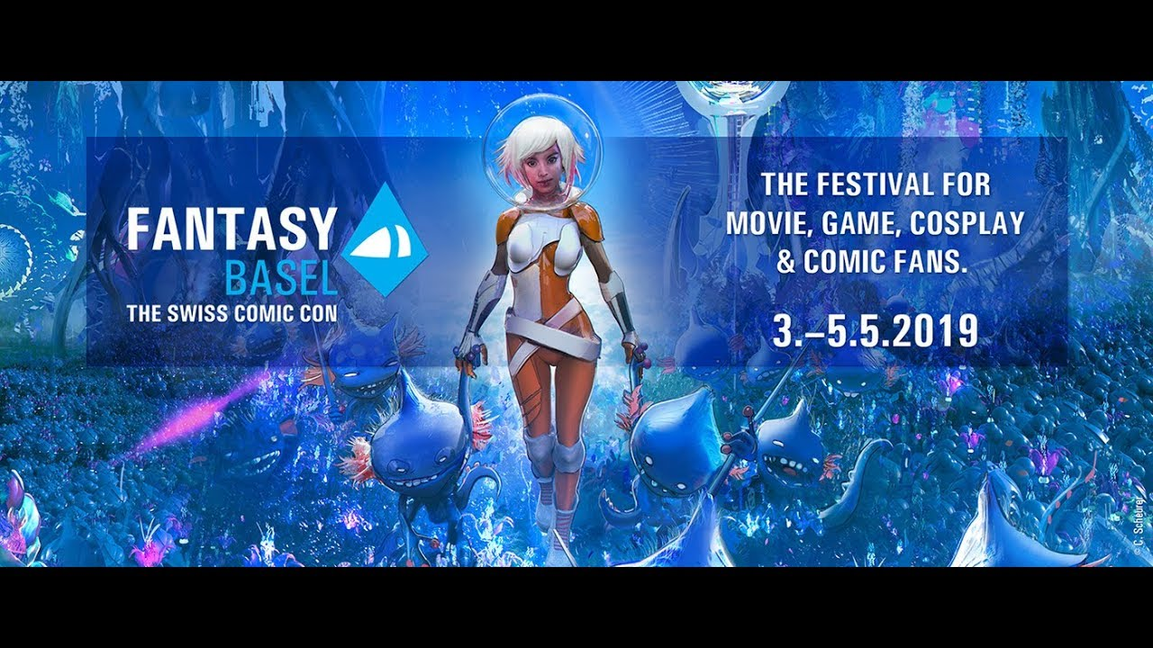 FANTASY BASEL – The Swiss Comic Con – 21  – 23  May 2020
