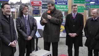 Staatsminister und designierter ministerpräsident des freistaates bayern, dr markus söder, im signs