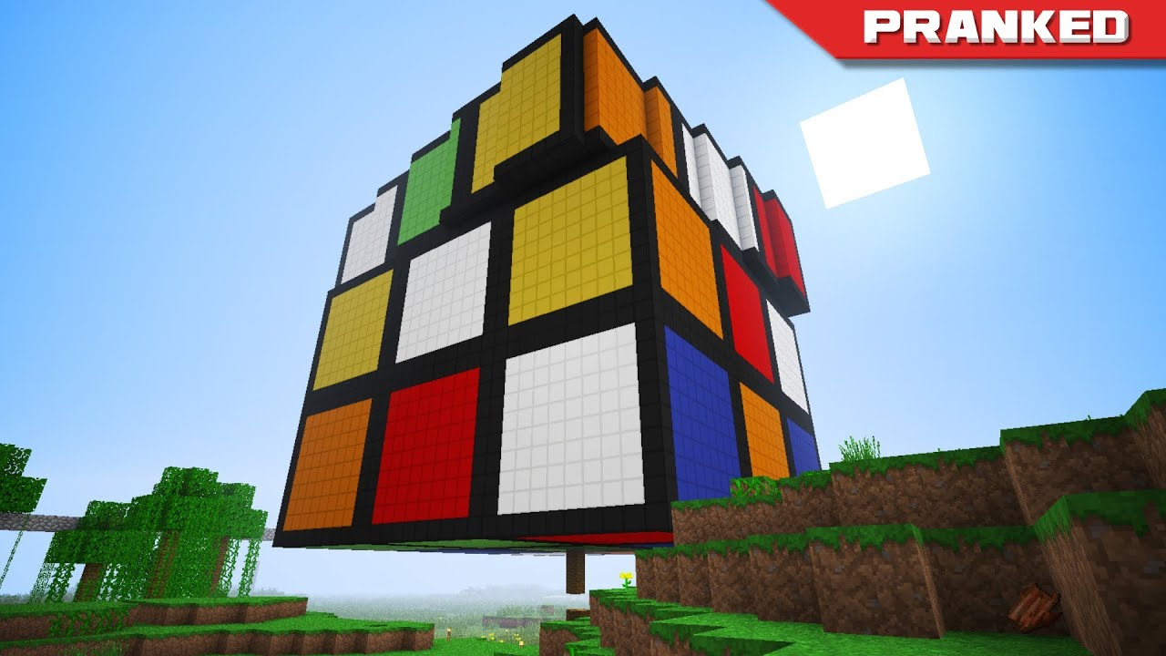 HermitCraft PRANKED The Hills Have Rubiks Cubes YouTube
