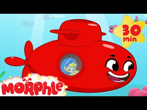 Morphle and the Sea Treasure - Animations For Kids