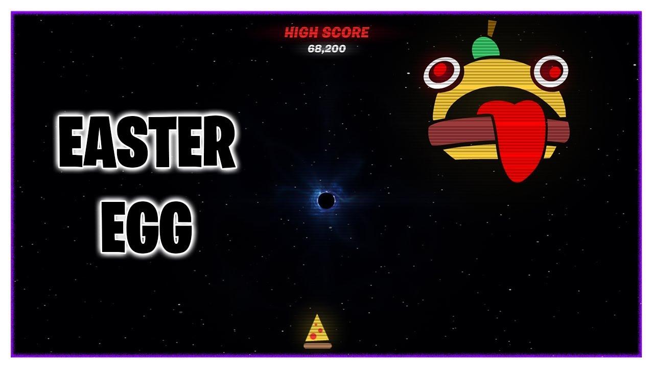 Fortnite Season 10 Black Hole Screen Easter Egg Arcade Mini Game