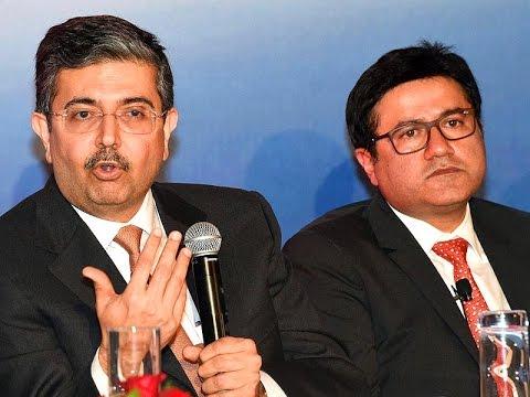 EXCLUSIVE: Uday Kotak of Kotak Bank & Uday Sareen of ING Vysya Bank to ET NOW