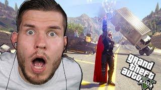 DONNERGOTT in GTA 5! Thor´s Hammer & Ultimativer Blitz!