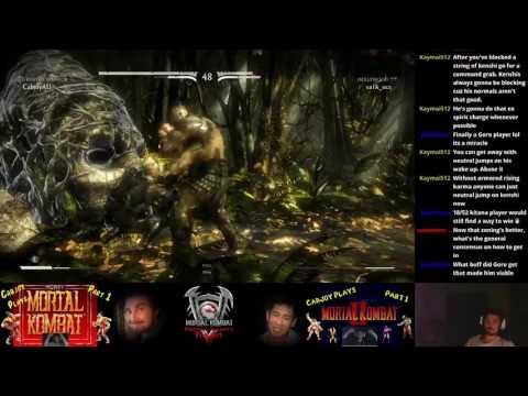 MKXL Oct. Patch Cabjoy (All Var Goro) vs Va1k_Oce (various)