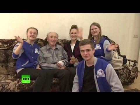 «Письмо Победы»: в преддверии 9 мая волонтеры передают ветеранам поздравления от молодежи
